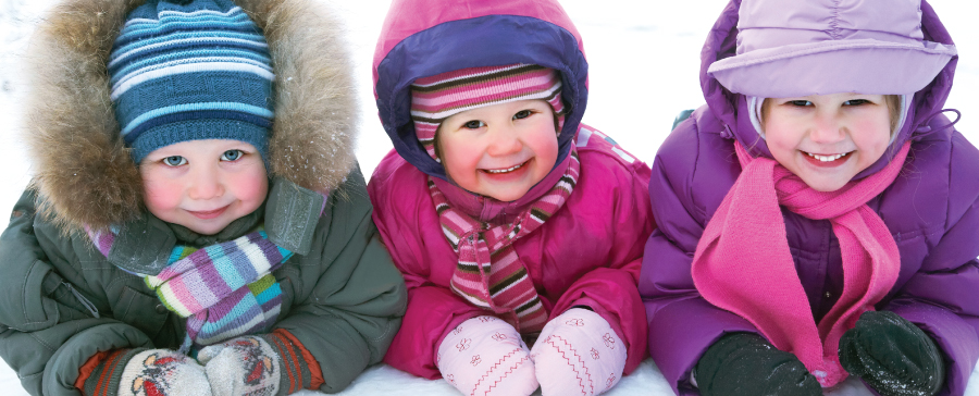 4 tips to keep your children safe and warm this winter