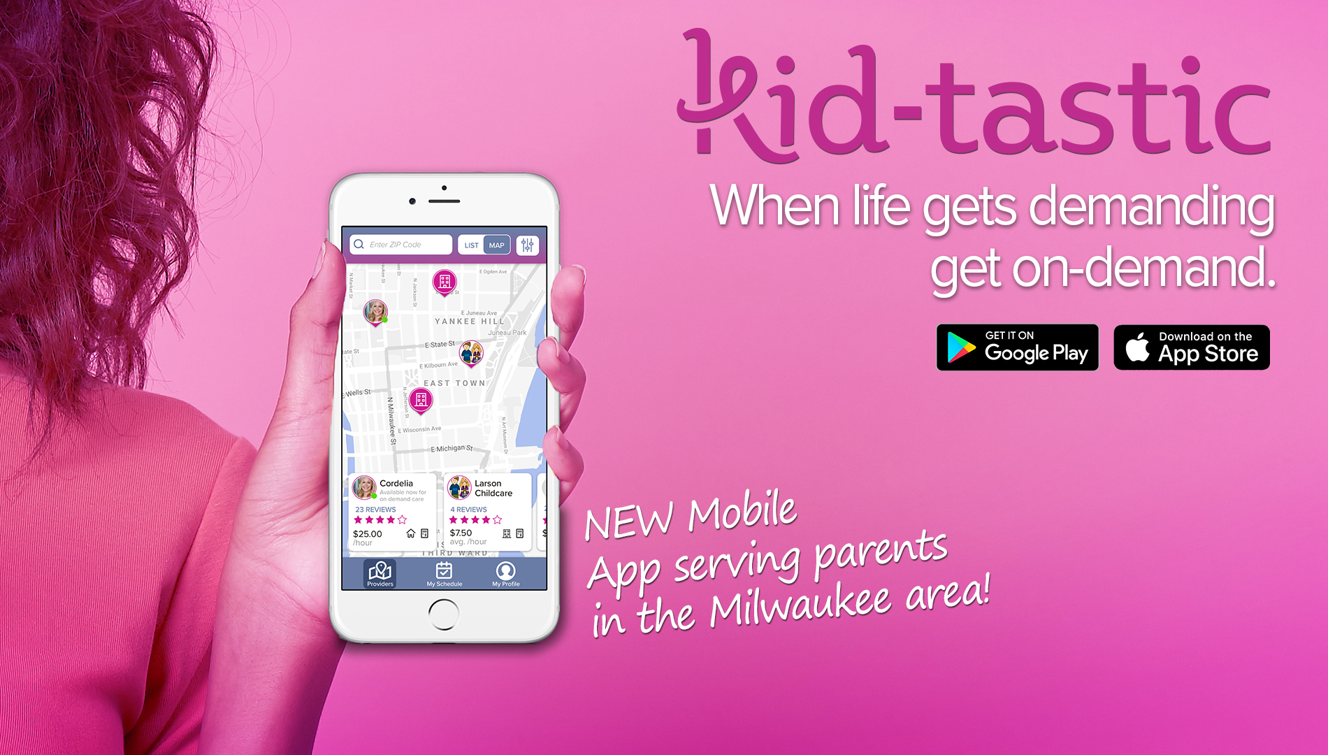 New Child Care App